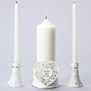 Language of Love Candle Holders
